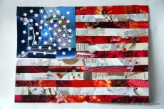 American Flag Crafts for the 4th