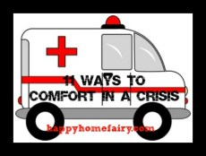 11 Ways to Comfort in a Crisis – #3 & #4: Texting and Cleaning