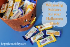 Halloween Candy That's Good For You – FREE Printable!