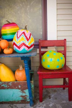 Painted Pumpkin Inspiration