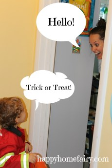 Trick or Treat Practice