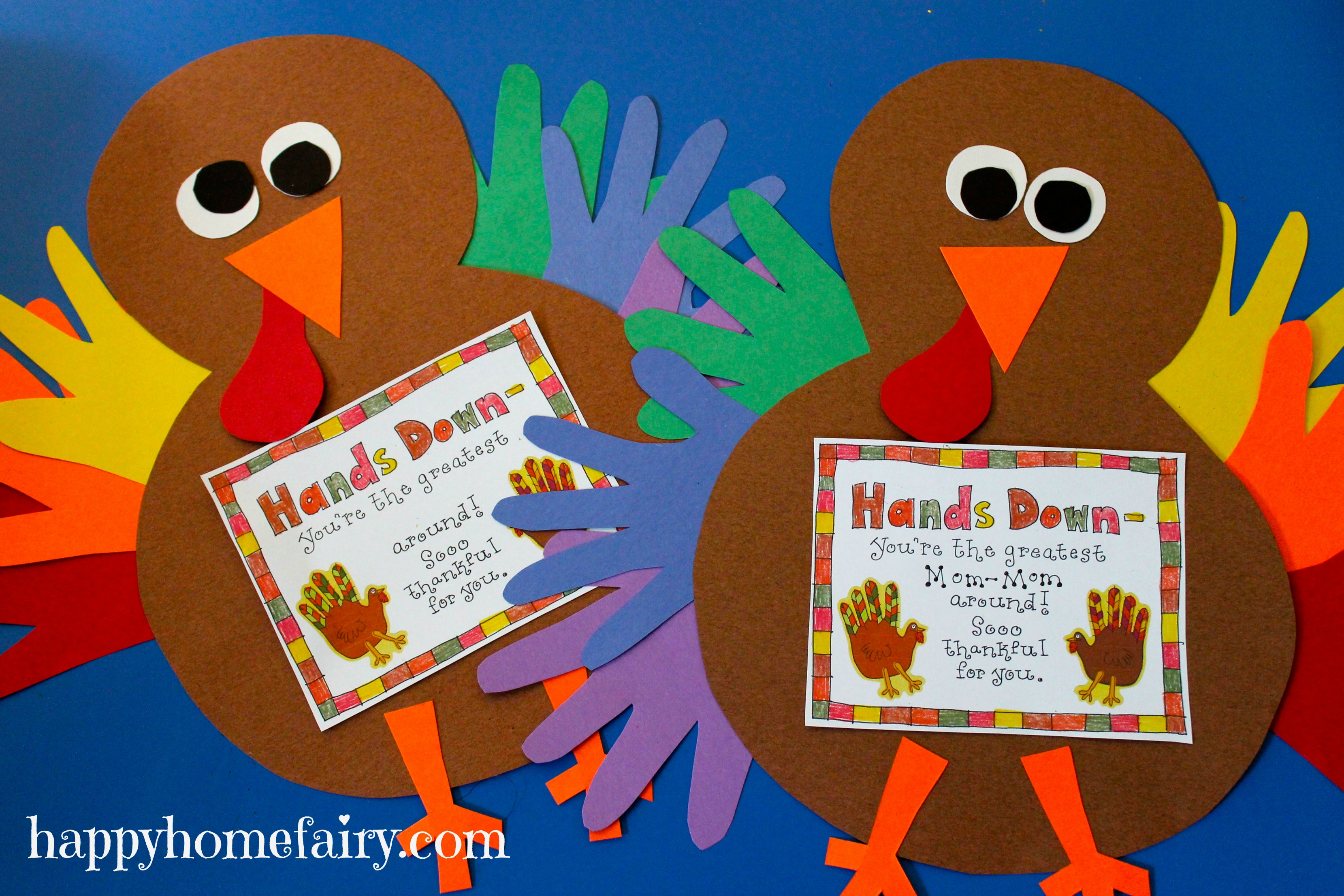 This is a photo of Trust Thanksgiving Printable Crafts