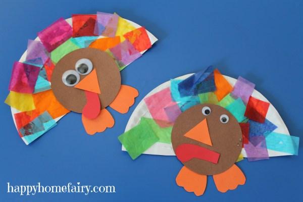 Easy Turkey Craft - Happy Home Fairy