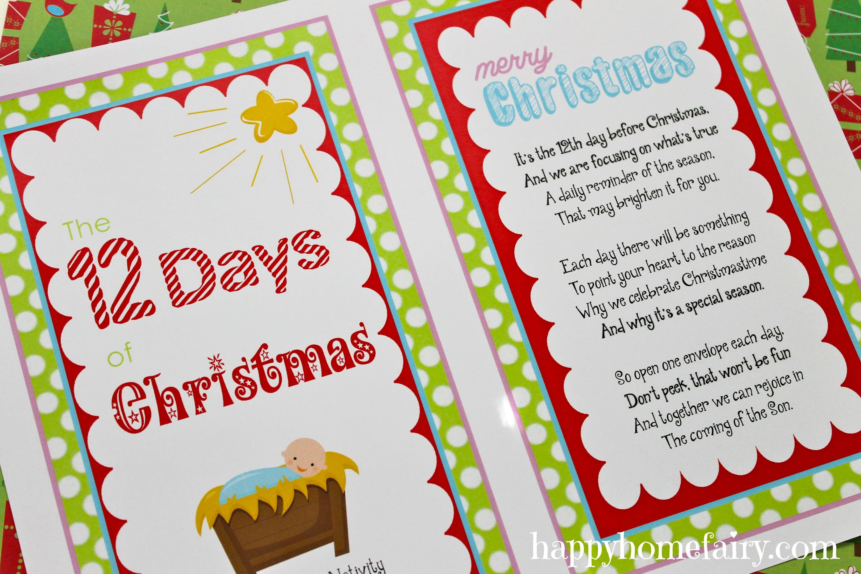 12 Days Cards 14