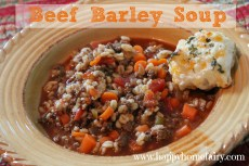 Recipe – Beef Barley Soup