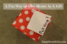 A Fun Way to Give Money As A Gift