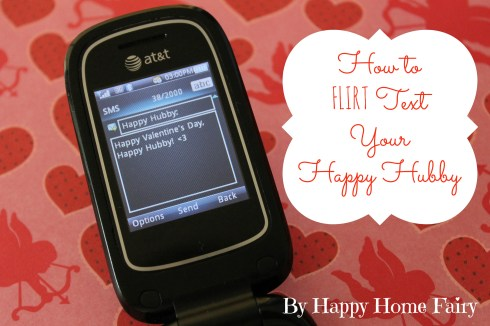 how to flirt text your husband - so funny i have to try this!!!