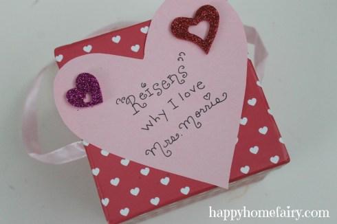 love box for teacher