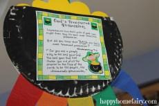 An Inspirational St. Patrick's Day Windsock