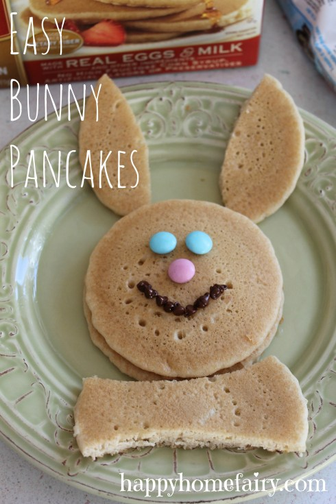 bunny pancakes at happyhomefairy.com