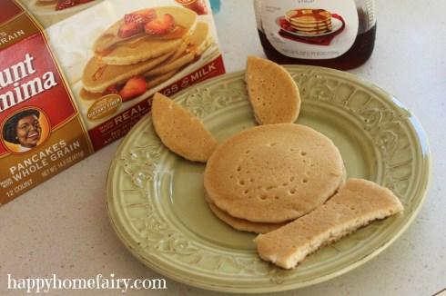 bunny pancakes step 3