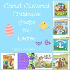 Christ-Centered Children's Books for Easter