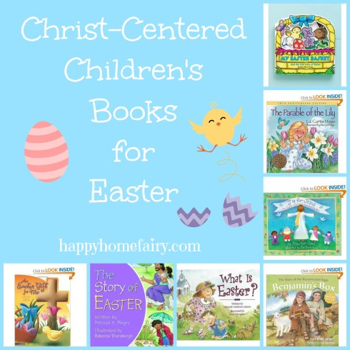 christ centered easter book ideas