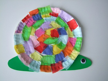 Click Image for Idea & Paper Plate Crafts for Spring - Happy Home Fairy