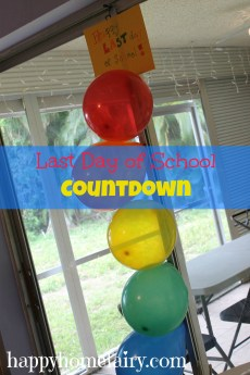 Last Day of School Countdown