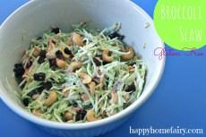 Recipe – Broccoli Slaw