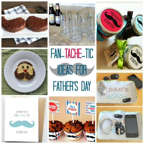 some super cute ideas for dad for Father's Day - love the mustache dad pancakes!