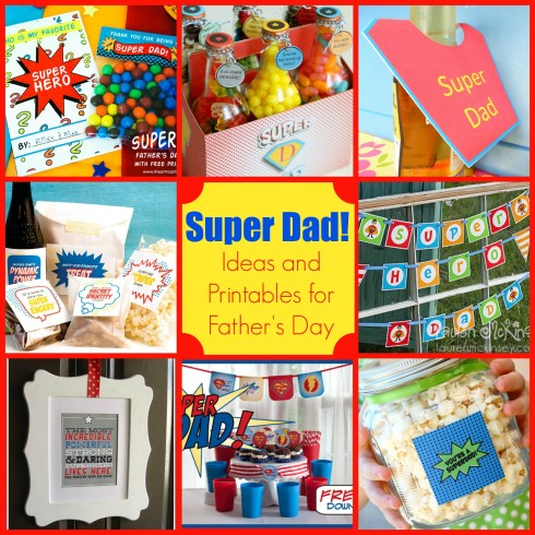 super hero father's day ideas