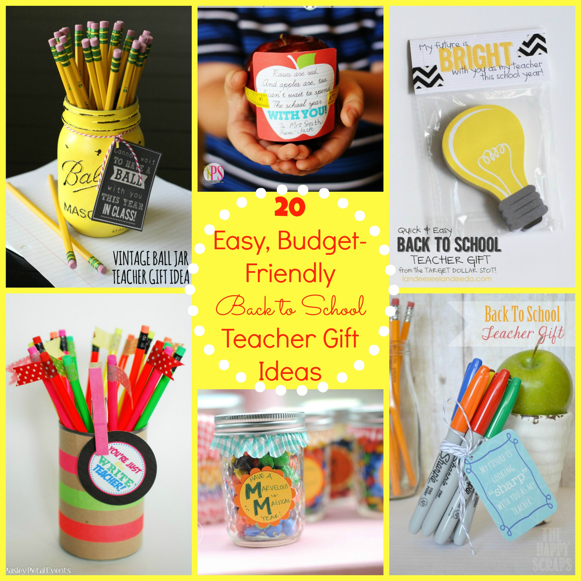 Back to School Gift Ideas for the Teacher - Happy Home Fairy