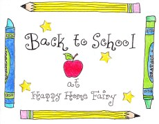 Back to School Supply Scavenger Hunt – FREE Printable!