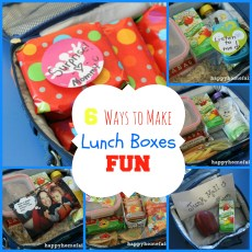 Making Lunch Boxes FUN