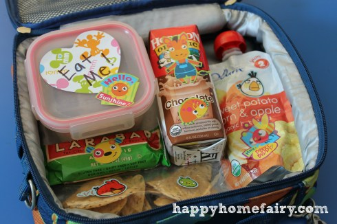 lunchbox fun with stickers at happyhomefairy