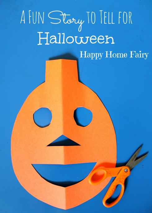 a fun story to tell for Halloween - this is ADORABLE and my kids will love it!!!