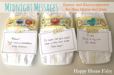 Midnight Messages for New Mommies – FREE Printable!