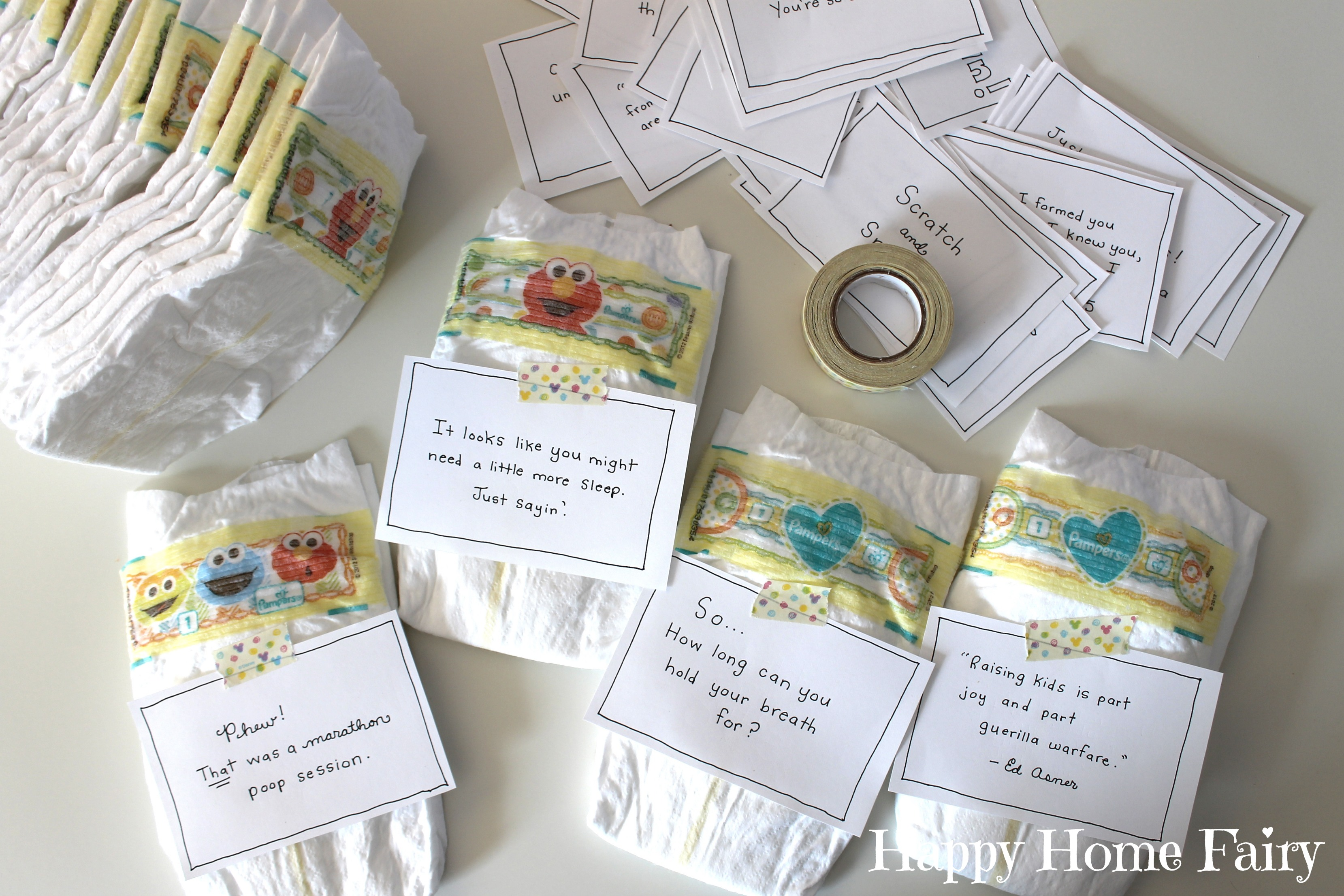 Midnight Messages For New Mommies Free Printable
