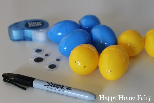 minion eggs - step 1