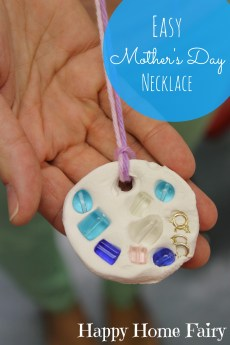 Easy Mother's Day Necklace
