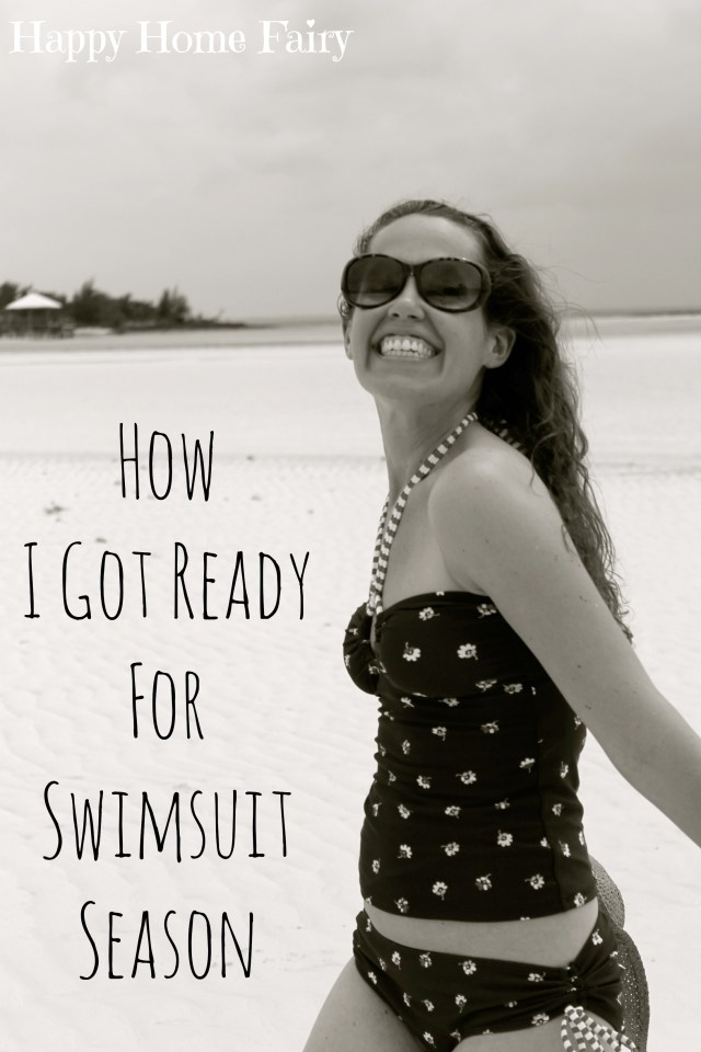 How one lady got ready for swimsuit season after having 2 kids. Hilarious and easy idea..jpg