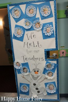 Adorable Teacher Appreciation Door Idea