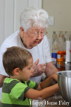 Baking With Grandmommy