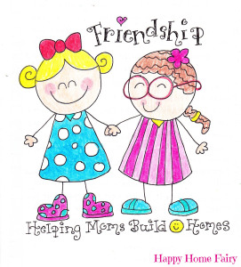 friendship week at Happy Home Fairy - cute ideas and inspiring ways to be an awesome friend
