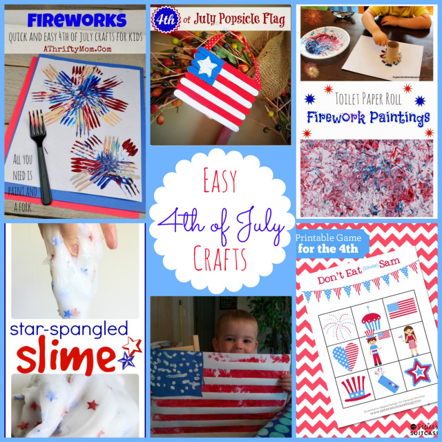 easy crafts for the 4th of july! love this list!