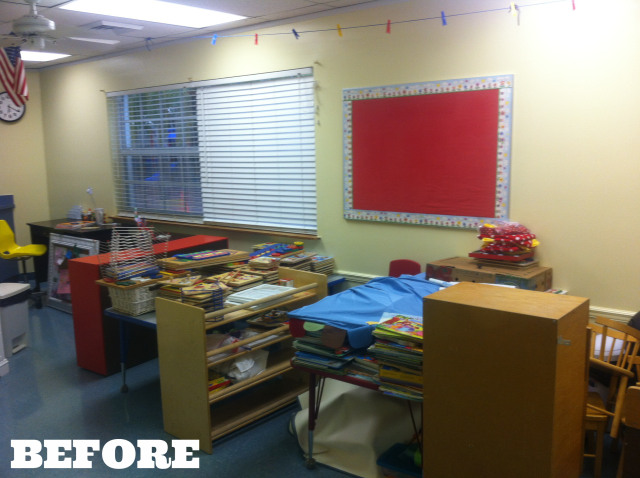 classroom BEFORE 2