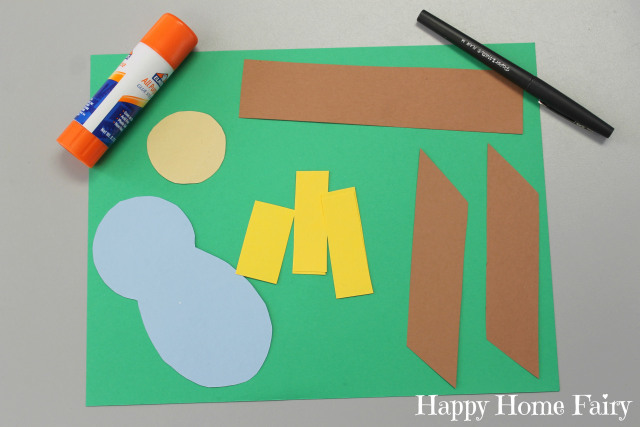 Simple Paper Baby Jesus Craft Happy Home Fairy