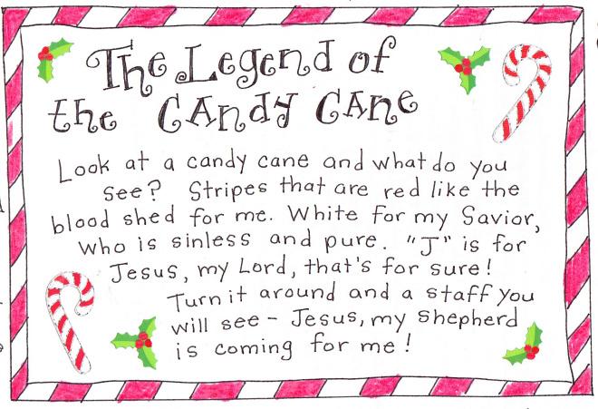candy cane legend