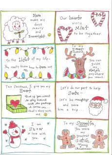 Christmas Love Notes for the Happy Hubby – FREE Printable!
