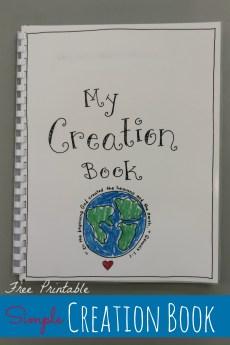 Creation Book – FREE Printable!