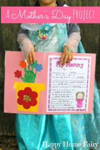 A Mother's Day Project - FREE Printable! - Happy Home Fairy