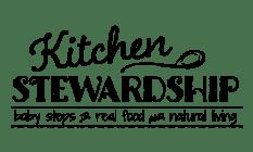 Kitchen Stewardship Chalkboard Logo - Black