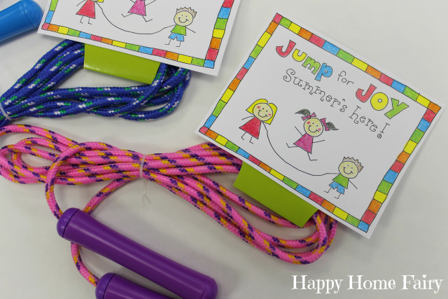 easy and inexpensive free printable end of year student gift idea