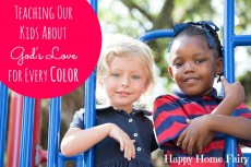 Teaching Our Kids About God's Love For Every Color