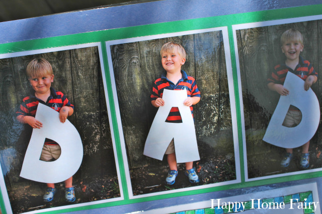 father's day project - free printable.