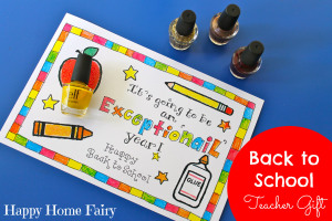 easy back to school teacher gift
