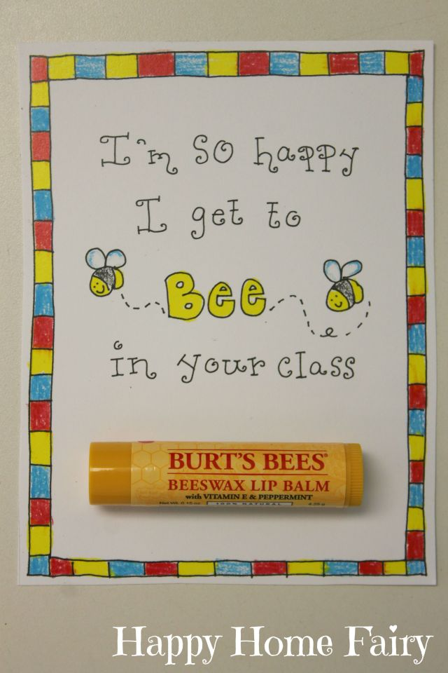FREE Printable first day of school teacher gift!!