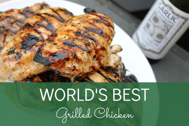 WORLD'S BEST Grilled Chicken at Happy Home Fairy