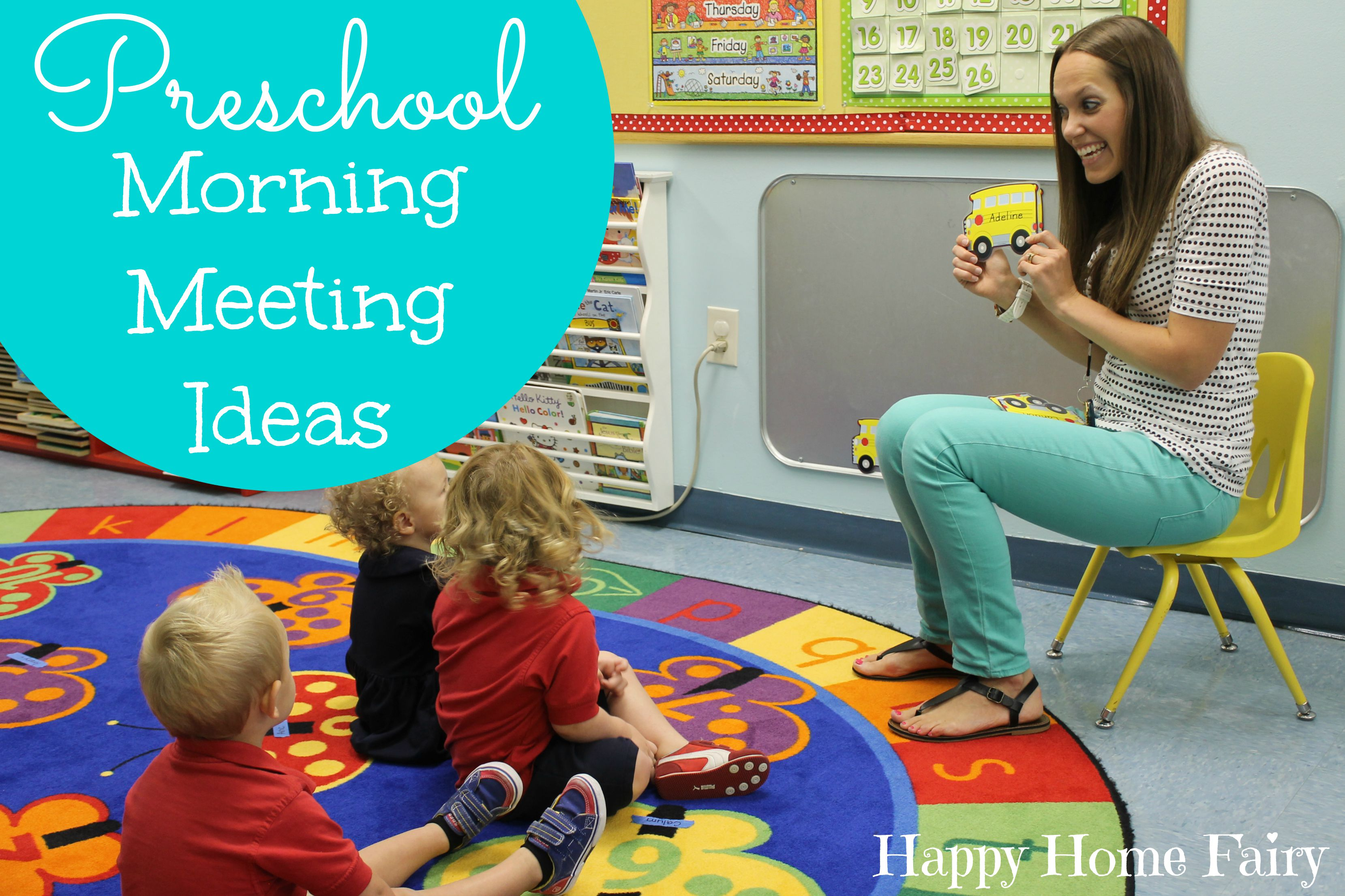 Preschool Morning Meeting Ideas